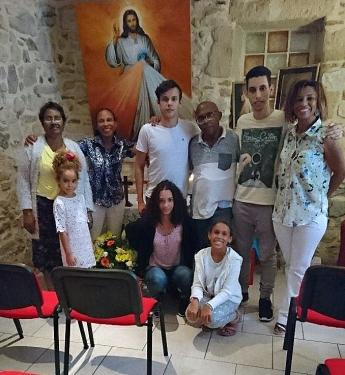 cérémonie centre misericorde 6 aout 2