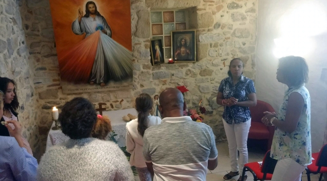 Du 6 au 17 août 2017 célébration de 12 messes à 15 h 00 en honneur du Sacré Cœur du Père pour demander la Miséricorde Divine et Consolatrice.