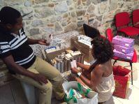 Donation au Congo 2016