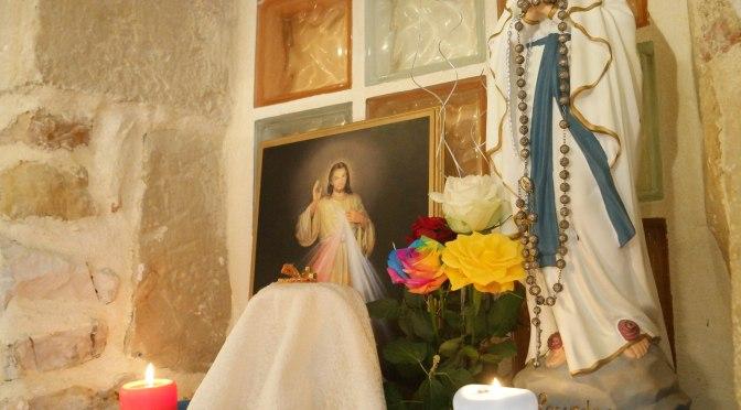 LE CENTRE MISERICORDE DIVINE FAIT HONNEUR A LA  vierge Marie Immaculée conception