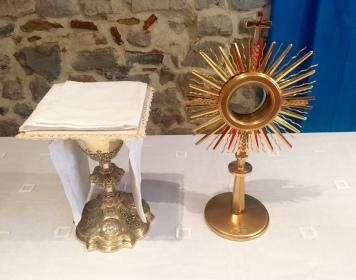 célébration-bénediction du Seigneur-marie-nouveau tableau-Jésus-patriarche de la consolation et de la charité et le nouveau chapelet-messages quenia-sacré couer du Père 26