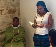 célébration du 6 -17 août-bénediction du Seigneur- nouveau tableau-Jésus-patriarche de la consolation et de la charité et le nouveau chapelet-messages quenia-sacré couer du Père