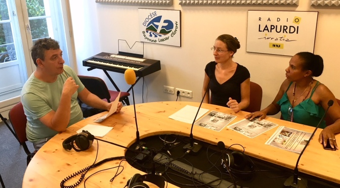 INTERVIEW A LA RADIO « LAPURDI » EN PREVISION DE NOTRE PROCHAINE MISSION.