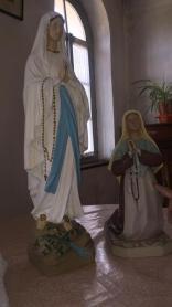 statues pour la construction chapelle marie à cuba au centre misericorde divine