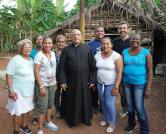 Bénédiction de la chapelle de Marie, du Centre Miséricorde Divine et du terrain à El Chico, à la Havane