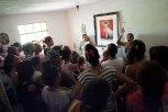 Bénédiction aux familles- chapelle Jésus Patriarche
