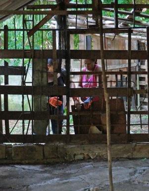 Construction de la chapelle de Marie