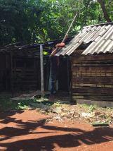 nettoyage du toit chapelle marie cmd el chico octobre 2018
