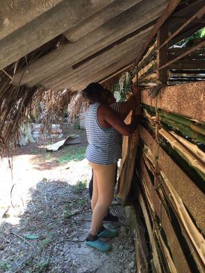 travaux aménagement chapelle marie cmd yaneysi et melba octobre 2018