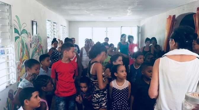 EVANGELISATION ET LEÇON DE FRANÇAIS POUR LES ENFANTS ET FAMILLES AU CENTRE MISÉRICORDE.