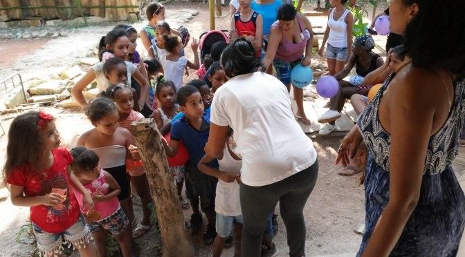 OCTOBRE/NOVEMBRE 2018, GOÛTER ET DONATION AU CENTRE MISERICORDE DIVINE DE CUBA,UNE INOUBLIABLE JOURNÉE.