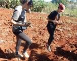 semer bénevoles françaises au CMD 2018 el chico havane