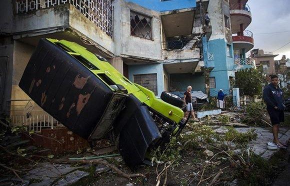 Aide à Cuba suite au passage de la tornade