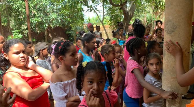 Dimanche de la Divine Miséricorde en faveur des enfants démunis de la Havane.
