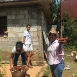 yomaris quenia-récolte CMD 2019 ferme finca cuba havane El chico