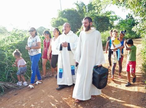 Procession Vierge Marie Cuba
