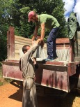 Rénovation-carrelage-Cmd les pèlerins d la miséricorde-antonio-classe P.cestac-havane 2019