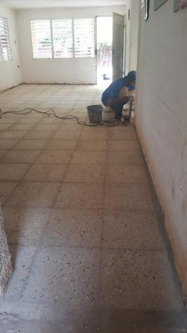 Samuel-Maçon- rénovation CMD-centro mIsericordia habana-havane-Classe P.Cestac