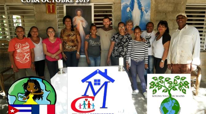 Retrouvez en VIDÉO, Toutes nos actions au Centre MISÉRICORDE DIVINE de Cuba des mois d'octobre / novembre 2019.