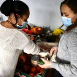 Aides alimentaire coronavirus association labo du pizzaiolo petits coeurs de Cuba centre misericorde 12