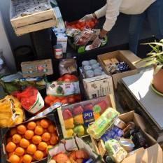 Aides alimentaire coronavirus association labo du pizzaiolo petits coeurs de Cuba centre misericorde 13
