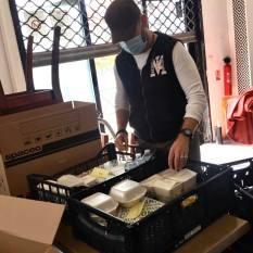 Aides alimentaire coronavirus association labo du pizzaiolo petits coeurs de Cuba centre misericorde 6