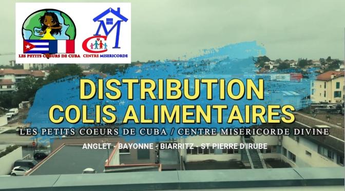 JOURNÉE TYPE D'UNE DISTRIBUTION DES COLIS ALIMENTAIRES DU CENTRE MISÉRICORDE DIVINE DE BAYONNE