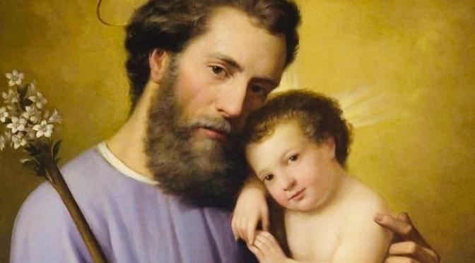 SAINT JOSEPH PERES ET GARDIEN DE L'EGLISE