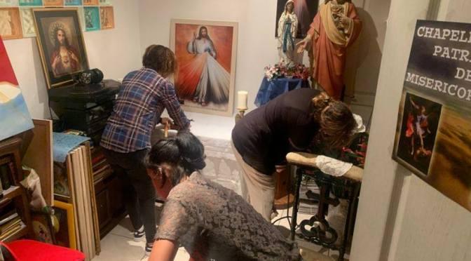 Preparation du CENTRE DE mISERICORDE dIVINE A CUBA ET Bayonne pour les 12 jours de priere au Pére