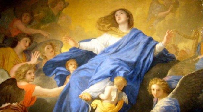 Fete de l'Assomption de la vierge Marie au centre Misericorde Divine a Bayonne